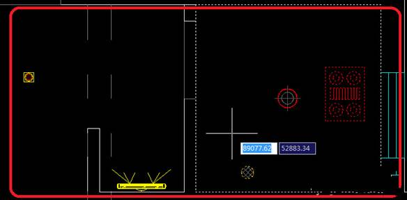 CAD制图初学入门教程:一起学习画卫生间开关布置图