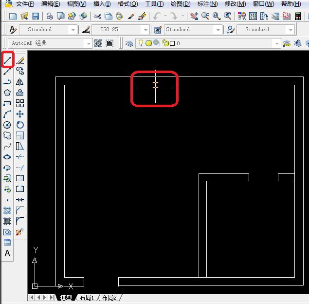 CAD制图初学入门教程:窗户用CAD的绘制方法