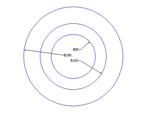 CAD直线绘制棘轮