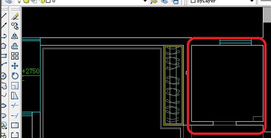 CAD制图初学入门教程-绘制顶面布置图
