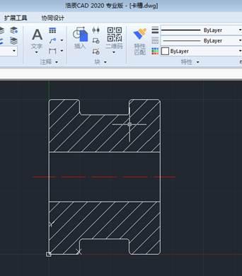 CAD分解命令使用举例绘制槽轮