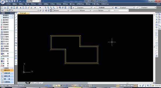 给排水CAD图怎么画散水教程