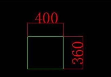 电脑液晶显示器CAD平面图绘制方法