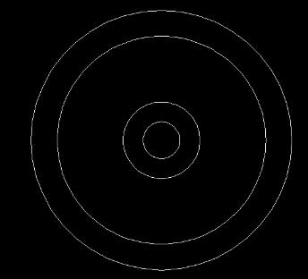 CAD绘制机械平面图中的风叶轮