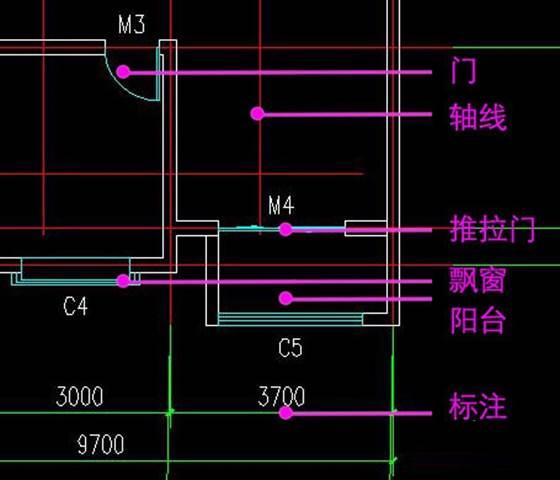 使用CAD做建筑平面图方法