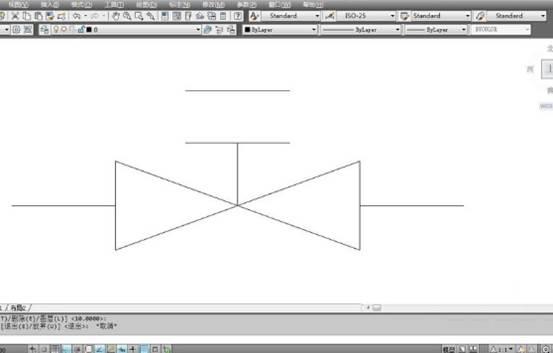 CAD绘制阀门详细过程