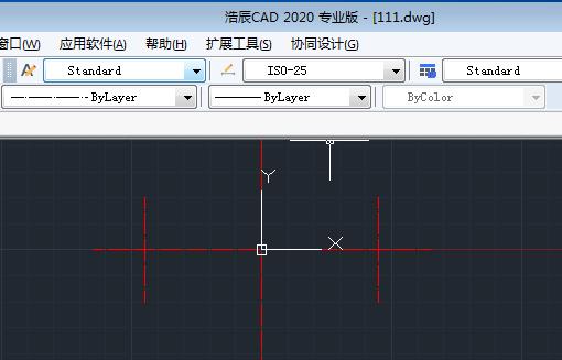 CAD圆弧命令绘制盘根压盖的俯视图过程