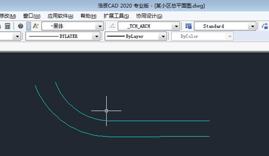 CAD折弯标注命令具体使用