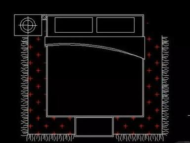 CAD分解图块的方法