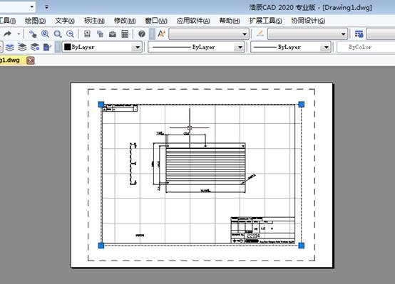 CAD布局视口比例如何查看