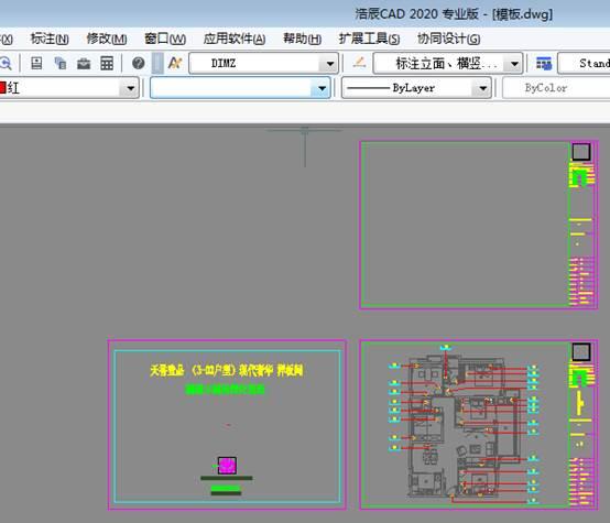 CAD布局视口显示问题