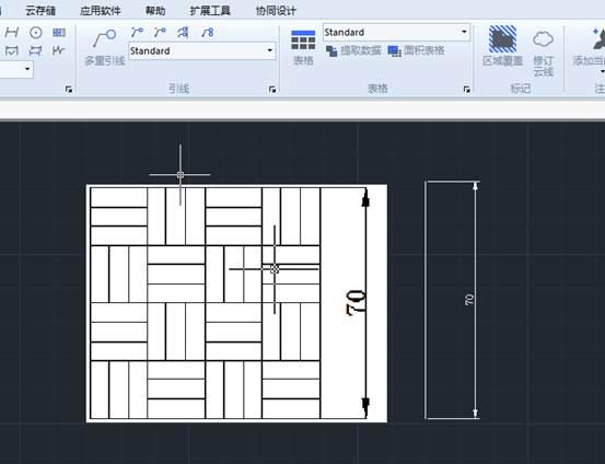 CAD插人图片缩放大小设置