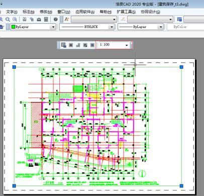 CAD布局视口设置比例,如何排版出图