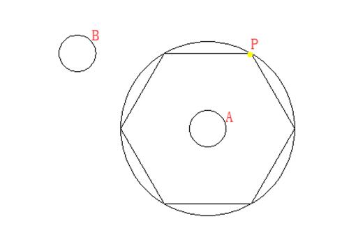 CAD捕捉-三点画圆怎么捕捉切点