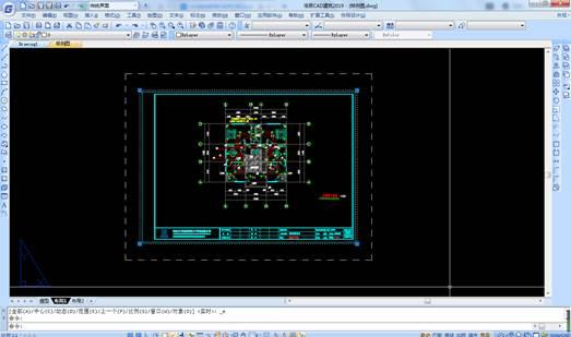 CAD视口使用方法