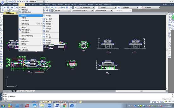 CAD缩放视图教程之浩辰CAD如何缩放视图