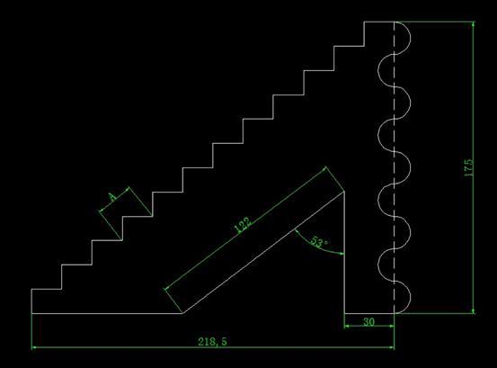 CAD计算面积之画图练习并求指定阴影部分面积