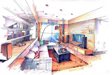 室内设计CAD绘图的思路及方法
