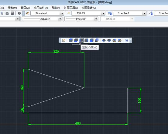 CAD面域使用绘制三维图形具体操作