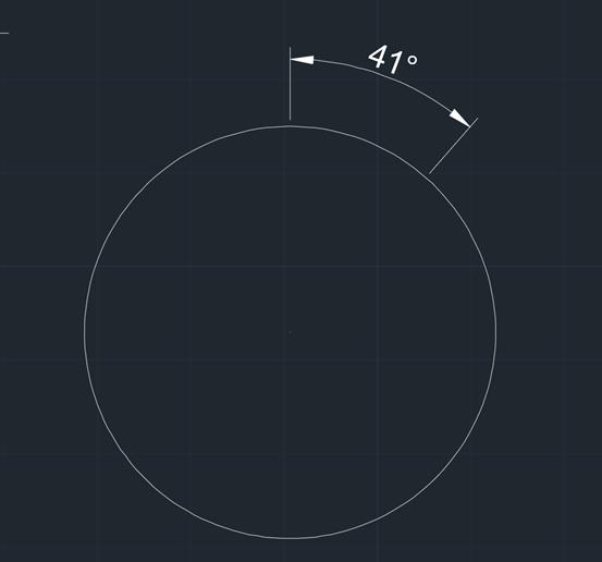 CAD角度标注如何显示小数后两位