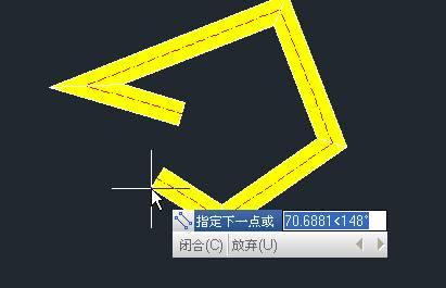 CAD多段线的设置编辑