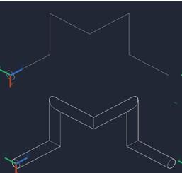 CAD拉伸命令创建三维实体的方法