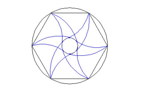 CAD中镜像命令绘制图形