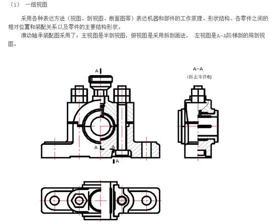 CAD绘制装配图中有什么