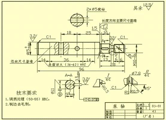 CAD尺寸标注的原则
