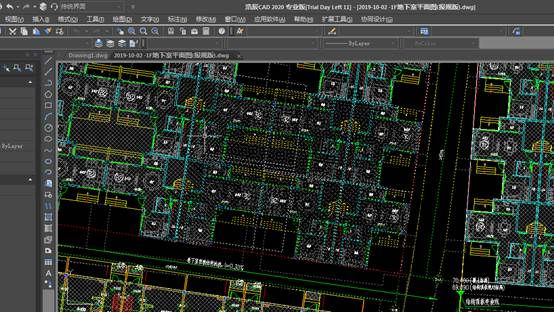 CAD删除重合线快速删除方法