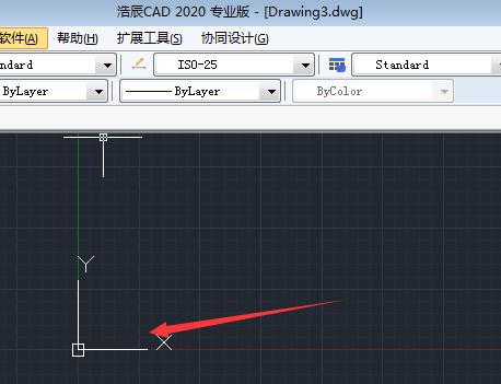 CAD软件 XY轴如何调整位置