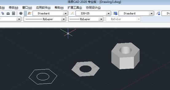 CAD面域具体操作使用