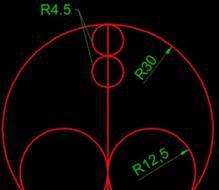 CAD图纸中圆的绘制及直径的计算