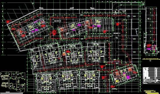 CAD图纸教程之浩辰CAD消防工程CAD图纸设计案例