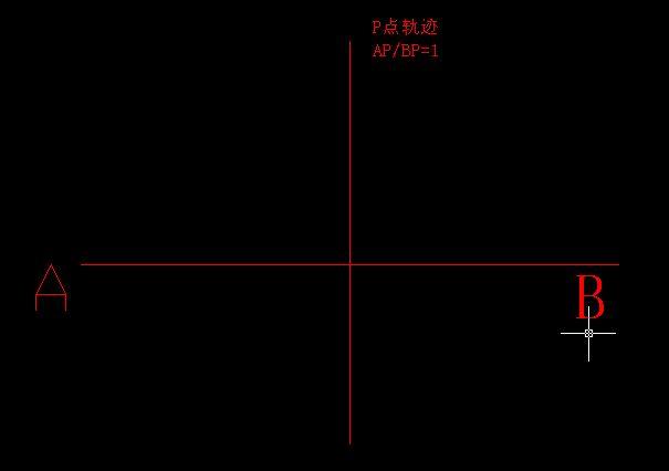 CAD绘图技巧之阿波罗尼斯圆(阿氏圆)
