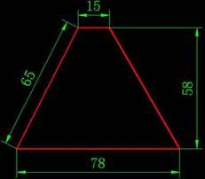 CAD制图初学入门绘图练习(一)