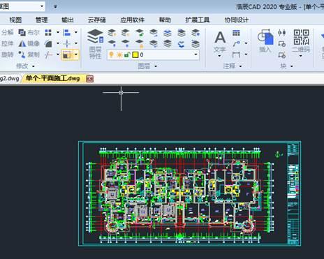 CAD关闭图层操作