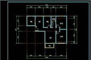 CAD绘制户型图的技巧方法