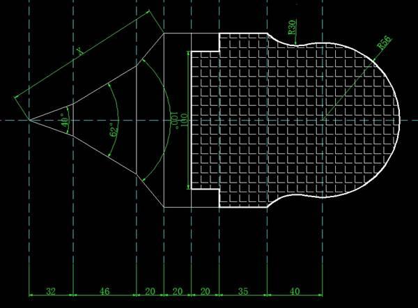 CAD画图并且可以查询计算周长