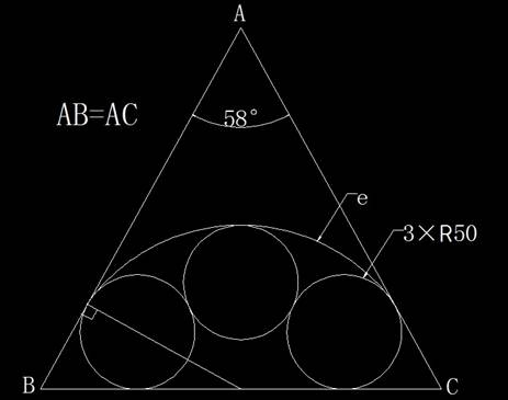 CAD画图和计算弧长和定位距离