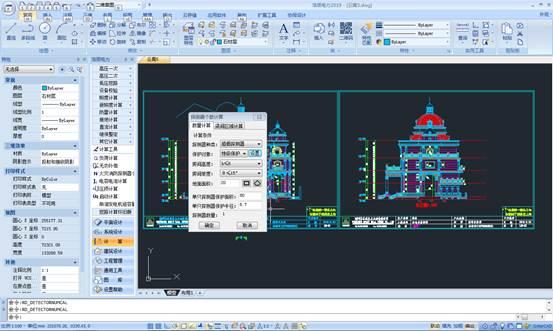 CAD计算教程之火灾消防探测器个数计算