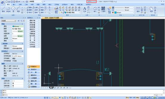 CAD电气工程图教程之变配电室电缆沟功能的应用