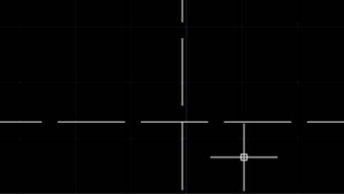 CAD虚线显示实线的原因