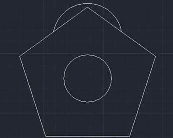 CAD绘制花朵的方法