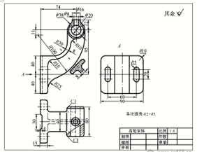 CAD机械制图常识之典型零件的分析
