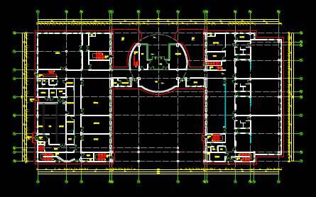 CAD室内设计图库大全之室内家具布置