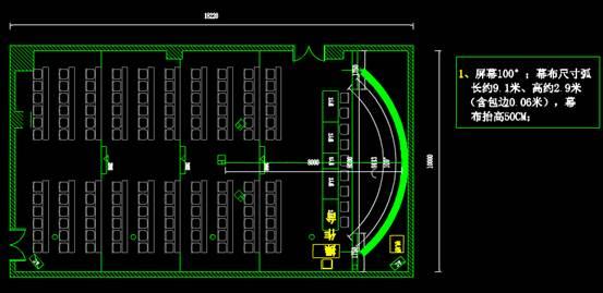 CAD室内设计图库大全之舞台布置