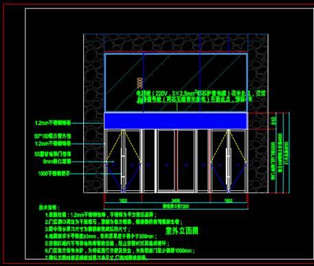 用于门窗设计的建筑装饰CAD图纸