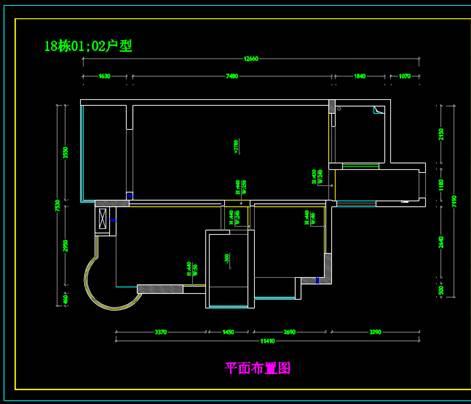 建筑装饰CAD中的住房室内设计