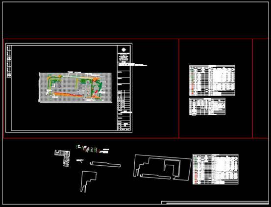 CAD工程图纸中的绿化施工图